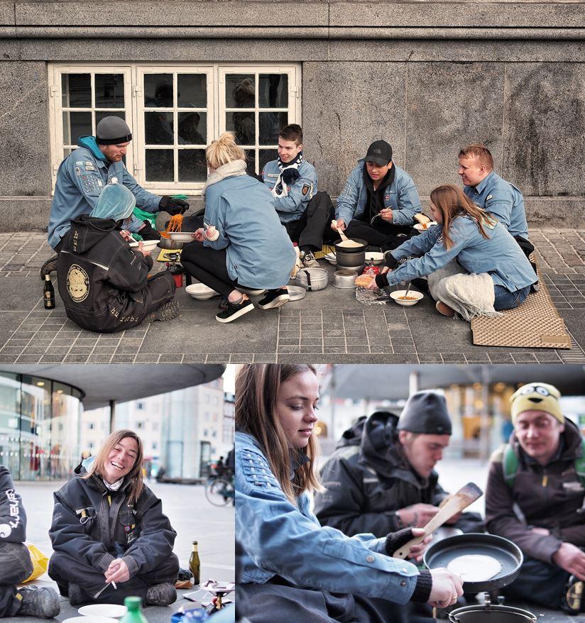 mad til hjemløse